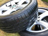 """BMW Genuine 17"""" Alloy Wheels F30 F31"""