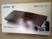 Samsung UBD-K8500 UHD Blu-Ray Player + 3 4k UHD DVDs