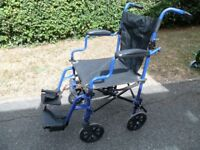 Fenetic portable wheelchair