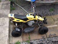 Quad kids mini motor