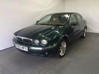 Jaguar X-Type 2.1 Petrol V6 S 2003 (03) Green 4 door Saloon £899 LONG MOT