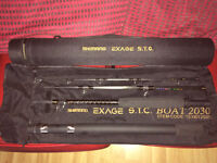 Shimano EXAGE S.T.C BOAT 2030, 4 piece boat rod.
