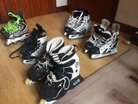 Ice Skates and Roller Blades