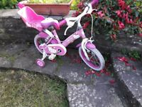 Bicycle girls Hello Kitty age 3-5 years
