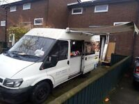 """All in 1 Catering Food Van, Gas equipment, Fitted Inverter for Electric items""""NO NEED"""" for Generator"""
