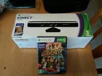 Xbox 360 Kinect and game bundle