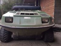 Argo cat 8 wheel drive skid steer ATV amphibious vehicle