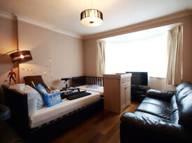 A Large 4 bedroom house with a patio located close to Turnpike Lane