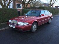 Rover 800/825 Sterling Fastback - long MOT, low miles