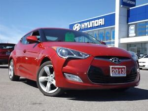 2013 Hyundai Veloster Base | SMART KEY | REAR CAM | HEATED SEATS Stratford Kitchener Area image 2