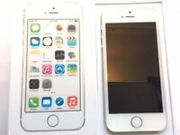 Apple - iPhone 5s - Silver - o2 - 16GB - Smartphone - Box And Charger - New Headphones