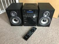 LENCO MCI-220 HOME AUDIO SYSTEM WITH IPOD/IPHONE DOCK - CD PLAYER