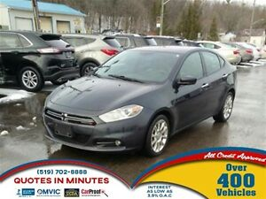 2013 Dodge Dart LIMITED | LEATHER | NAVIGATION | HEATED SEATS
