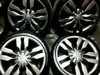 19 inch 5x112 genuine Audi A6 S6 5.2 V10 alloys wheels.