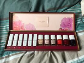 Ted Baker lipstick and nail polish gift set