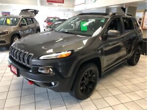 2015 Jeep Cherokee Trailhawk,BLIND SPOT MONIT, ADAPT CRUISE CONT