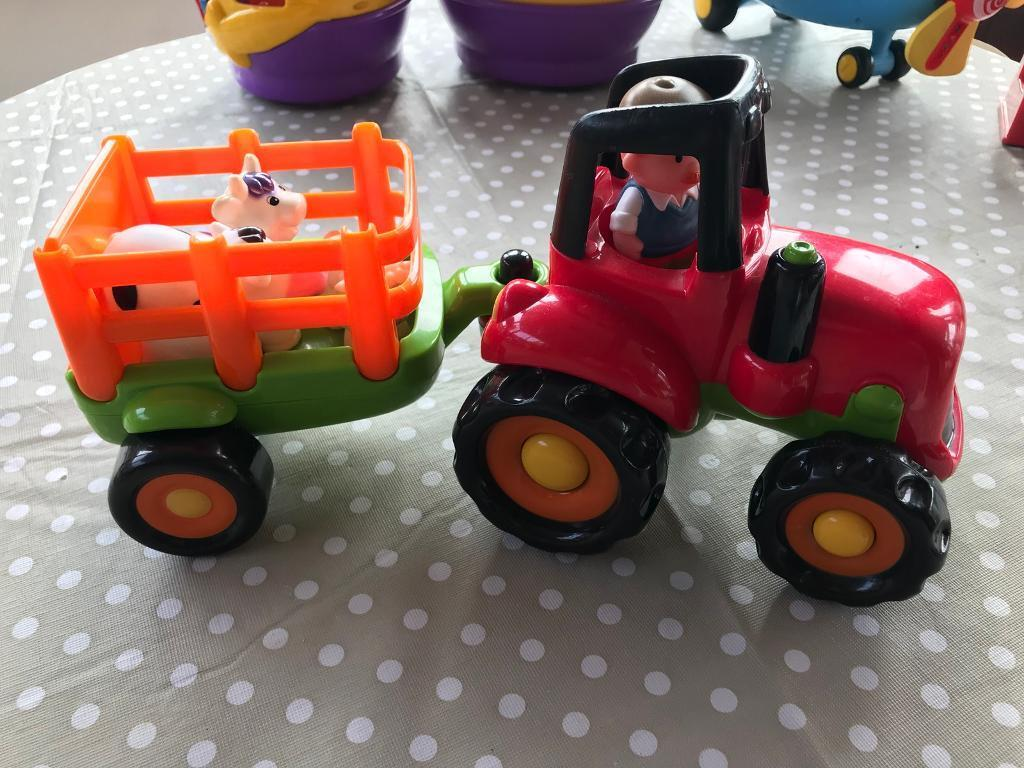 Elc tractor with sounds lights and talking farmer