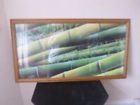 Very large wooden frame