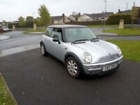 Cheap Mini Cooper, long mot
