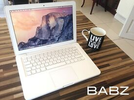 Apple Macbook Pro 13 inch - White - Logic Pro X - Adobe CS6 - MS Office