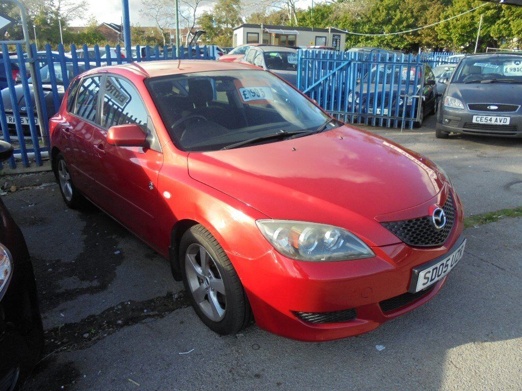 MAZDA 3 TS2 1598cc 5 DOOR HATCH 2005-05,RED, 100K FROM NEW