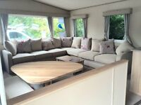 BRAND NEW STATIC CARAVAN ROOKLEY COUNTRY PARK ISLE OF WIGHT NEAR LOWER HYDE & THORNESS BAY