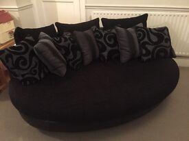 Oval sofa - Fabric