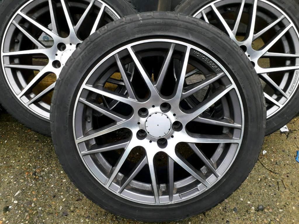 Alloys 5x112 Mercedes 225 45 R17