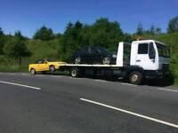Man tilt and slide recovery truck