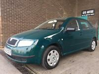SKODA FABIA ONLY 50,000 MILES **NEW MOT** !!!! LOVELY CAR THROUGH OUT!!!!
