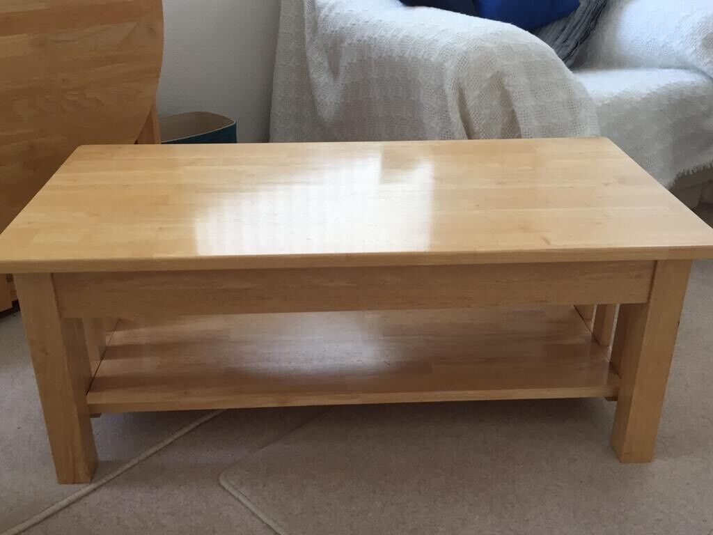 Rubberwood Coffee Table.John Lewis Rubberwood Coffee Table In Portishead Bristol Gumtree