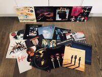 "Job Lot of 18 12"" Vinyl Records inc. ABBA, Eric Clapton, ELO, Genesis, Madness, etc."