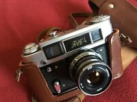 FED 4 russian built 35mm film camera in good, working condition