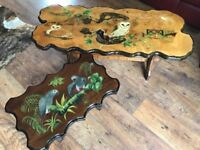 Hand crafted coffee tables