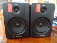 m-audio bx5d2 (pair) barely used. excellent condition