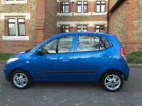 Hyundai I10 1.2 Comfort 5dr , 1 Owner with Full Service , Outstanding Condition . £2500
