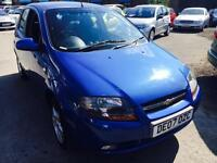 CHEVROLET KALOS 1.4 SX 5 DOORS PETROL MANUAL ALLOYS LOW MILEAGE 30000 MILES