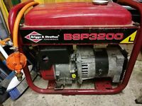 Generator lpg 3.4 kva & petrol
