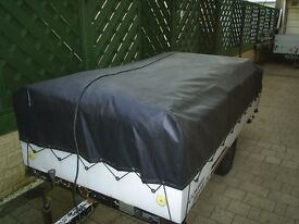 cover from conway trailer tent in very good condition 8ft x 4ft suit type with rear kitchen