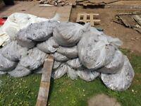 Free garden soil around 30 bags