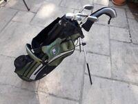 Kids golf set - clubs and stand bag