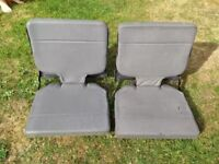 Landrover Discovery Rear fold away seats Grey Leather
