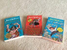 Various children's books age 8+