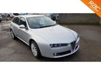 Alfa Romeo 159 Sportwagon 2.2 JTS Turismo 5drFinance Available / Year MOT!