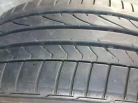 Bridgestone tyre 205/40/18 6mm tread