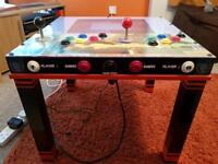 RETRO GAMING TABLE with 6257 Games