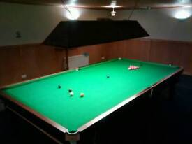 Snooker And Pool Tables Available For Public Play