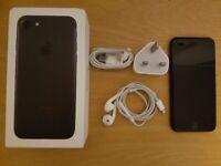 iPhone 7 Matt Black 32GB Fully Working, Network and iCloud unlocked!