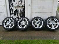GENUINE BMW ALLOY WHEELS M SPORT