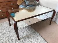 Laura Ashley Mirrored Coffee Table. Can deliver within 20 miles